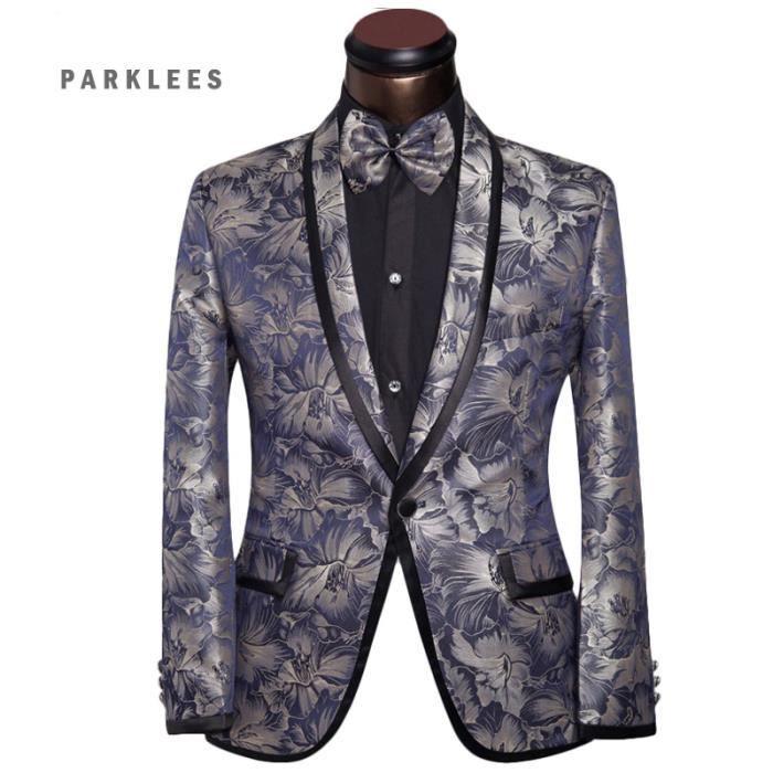 luxe costume homme de bleu fleur costume de mariage pour. Black Bedroom Furniture Sets. Home Design Ideas