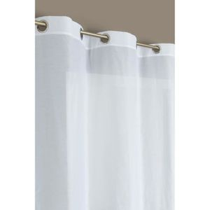 Voilage blanc achat vente voilage blanc pas cher - Rideaux grande hauteur 300 ...