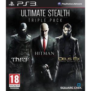 JEU PS3 Pack Stealth Pack Thief + Hitman + Deus EX HR PS3