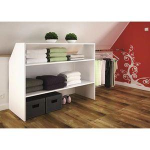 Petit meuble achat vente petit meuble pas cher cdiscount for Petit meuble rangement blanc