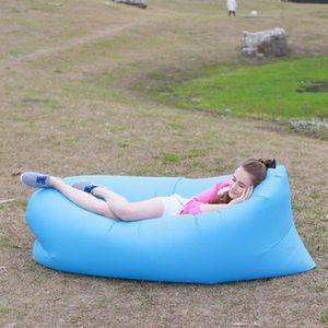 creative gonflable chaise longue de plage sacs de couchage d 39 ext rieur int rieur air lits de. Black Bedroom Furniture Sets. Home Design Ideas