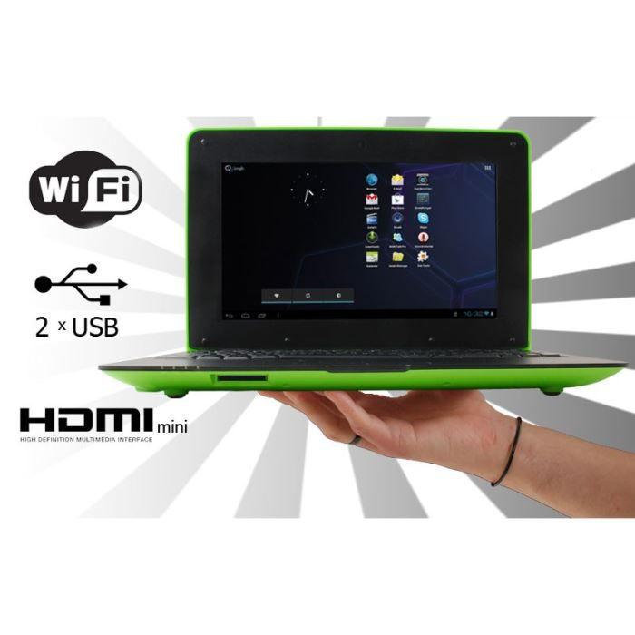ordinateur portable 10 pouces android 4 1 achat vente. Black Bedroom Furniture Sets. Home Design Ideas