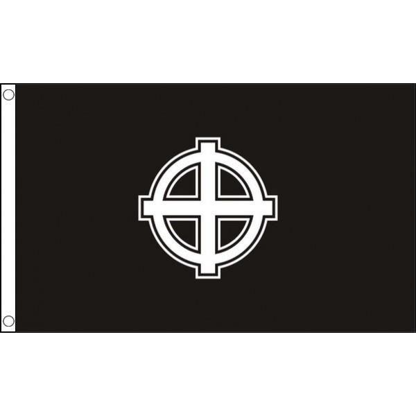 Drapeau Croix Celtique Noire 150x90cm Croix N Prix
