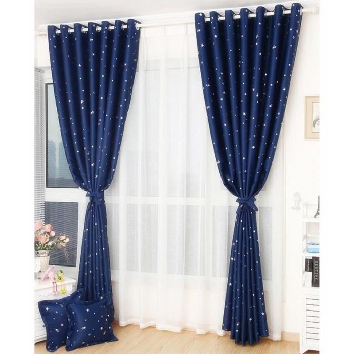 couleur lumineuse avec motif dtoiles peut concordent bien avec autres rideaux de voile qui donne votre maison une sensation visuelle soigne et - Maison Colore Rideaux