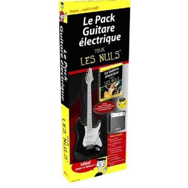 pack guitare lectrique pour les nuls achat vente. Black Bedroom Furniture Sets. Home Design Ideas