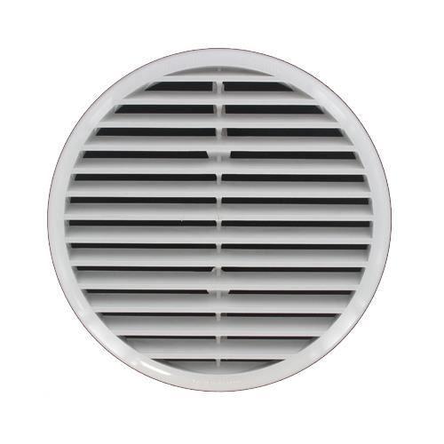 Grille ventilation pvc ronde clipser ext 235mm tube 165 220mm achat - Grille de ventilation hygroreglable ...
