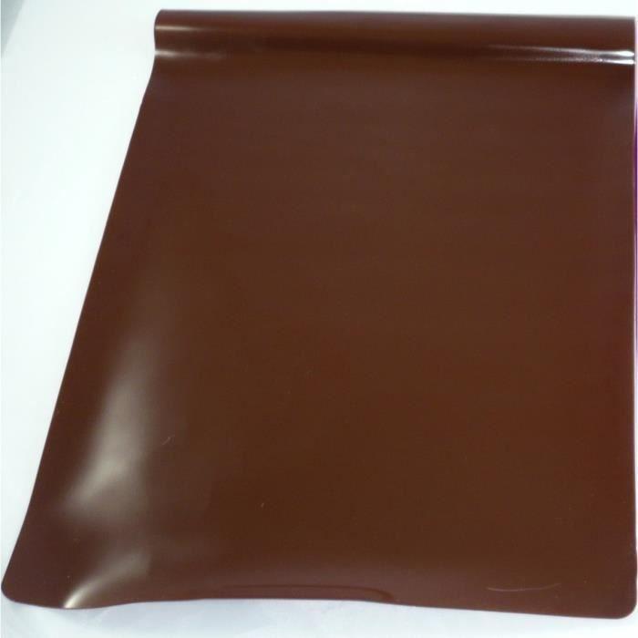 feuille de cuisson en silicone coloris marron achat vente feuille de cuisson feuille de. Black Bedroom Furniture Sets. Home Design Ideas