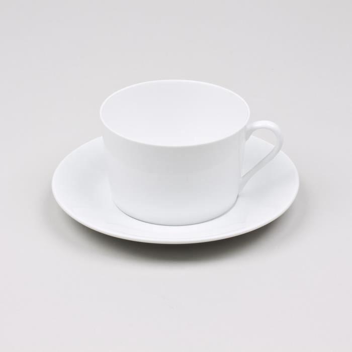 Table passion petit dejeuner 39 cl porcelaine achat for Set petit dejeuner porcelaine
