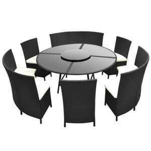 table ronde exterieur achat vente table ronde. Black Bedroom Furniture Sets. Home Design Ideas
