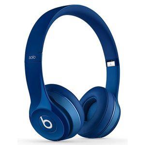 CASQUE - ÉCOUTEUR AUDIO BEATS Solo 2 Casque audio avec micro Bleu