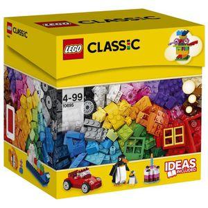ASSEMBLAGE CONSTRUCTION LEGO® Classic 10695 Boîte de Construction créative