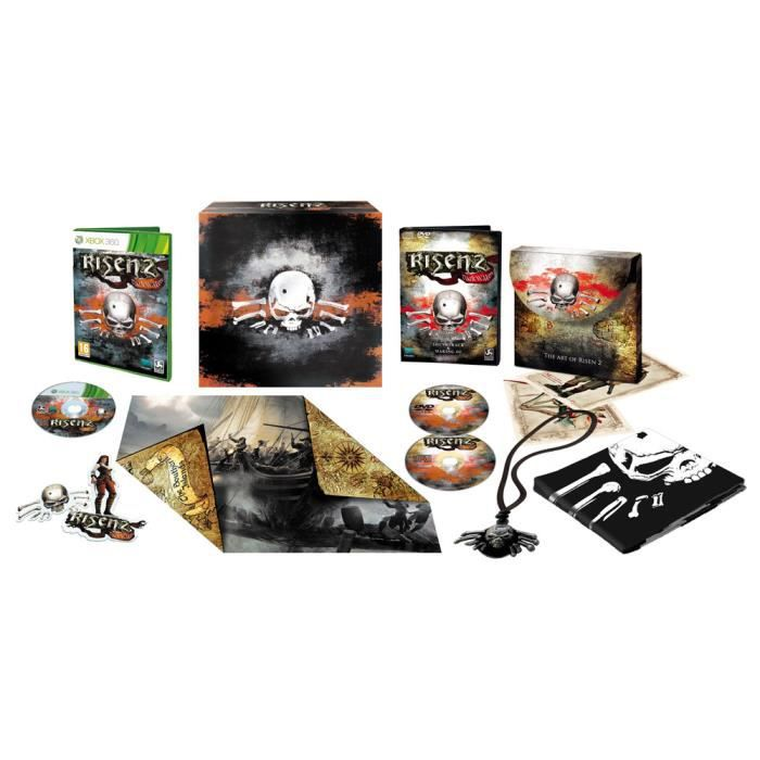 JEUX XBOX 360 Deep Silver - Risen 2 Dark Waters édition collecto