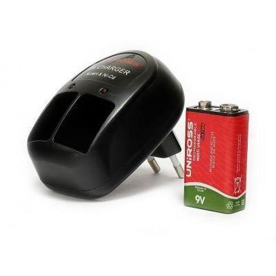 Chargeur 2 piles 9v ni cd ni mh 1 pile 9v achat - Pile 9v rechargeable ...