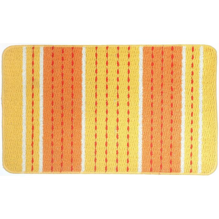tapis cuisine tresse ligne jaune achat vente tapis de cuisine cdiscount. Black Bedroom Furniture Sets. Home Design Ideas