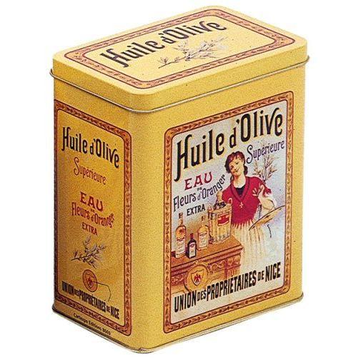 Boite Metal Deco 12x8x15cm Pub Huile D 39 Olive Nice Achat