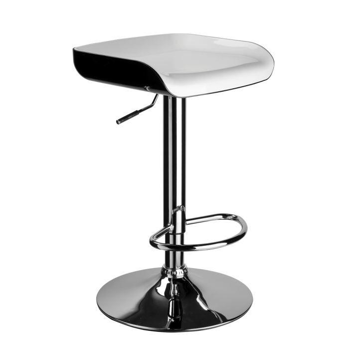 Chaise bar noir et blanc images - Chaise noir et blanc ...