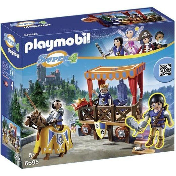 6695-Tribune royale avec Alex de Playmobil