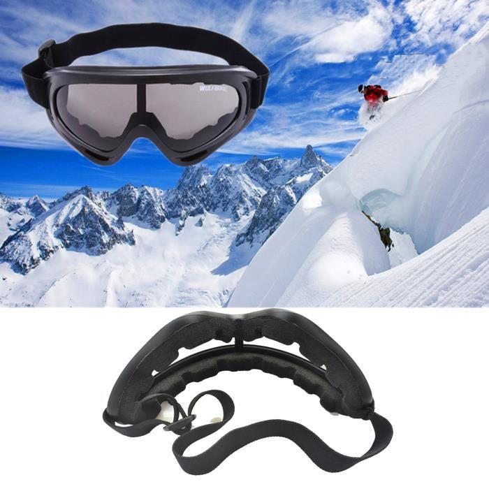 gris masque de ski d 39 hiver lunettes de soleil cyclisme. Black Bedroom Furniture Sets. Home Design Ideas