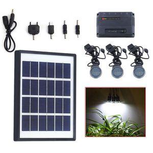 panneau solaire avec eclairage leds achat vente panneau solaire avec eclairage leds pas cher. Black Bedroom Furniture Sets. Home Design Ideas