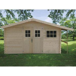 abris de jardin bois 4m2 28 mm achat vente abris de jardin bois 4m2 28 mm pas cher soldes. Black Bedroom Furniture Sets. Home Design Ideas