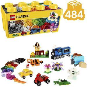ASSEMBLAGE CONSTRUCTION LEGO® Classic 10696 La Boîte de Briques créatives
