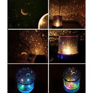 VEILLEUSE LED Projecteur Coloré Style Ciel Étoile Lune Soiré