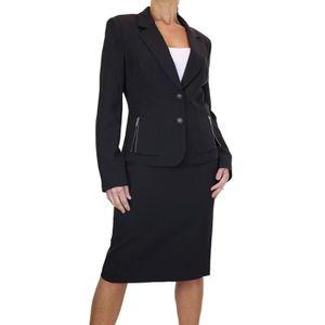 Tailleur jupe femme achat vente tailleur jupe femme pas cher les soldes sur cdiscount - Vetement de bureau pour femme ...