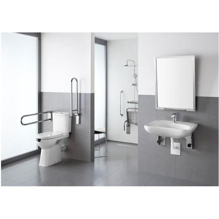 pack wc sur lev normes handicap s roca acces achat vente wc toilettes pack wc sur lev. Black Bedroom Furniture Sets. Home Design Ideas