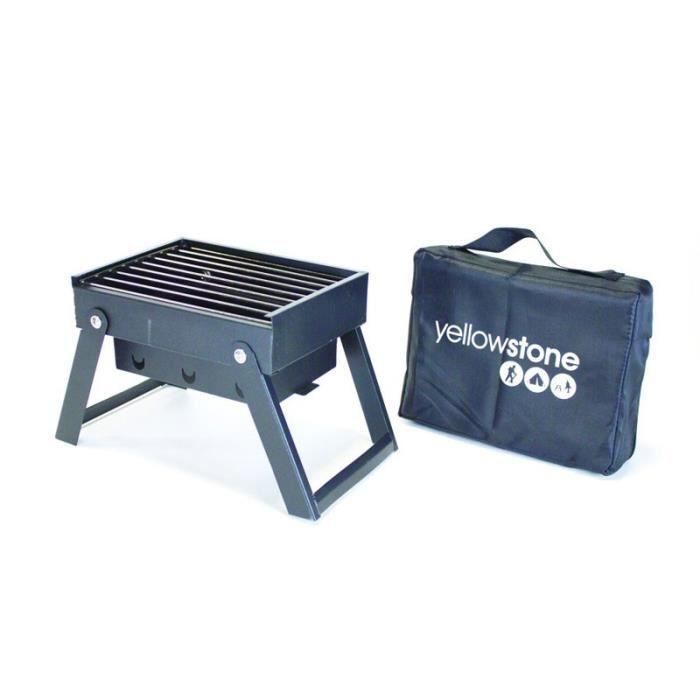 barbecue pliant mini yellowstone achat vente barbecue barbecue pliant mini yellow les. Black Bedroom Furniture Sets. Home Design Ideas