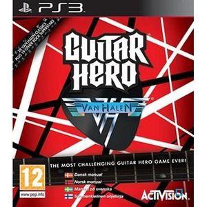 JEU PS3 GUITAR HERO VAN HALEN / JEU CONOLE PS3