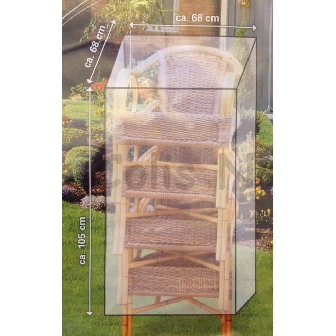 Housse de protection chaise de jardin 105x68x68cm achat - Housse de chaise de jardin ...