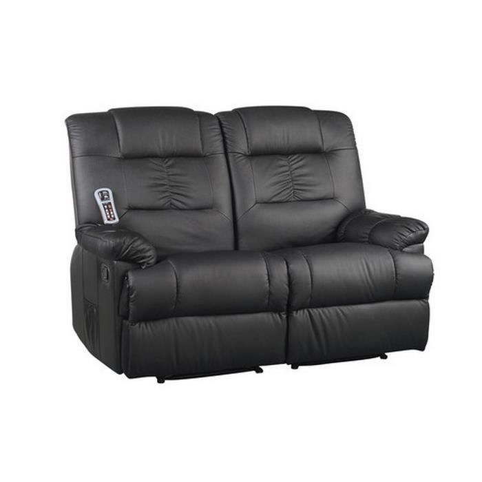 Canap massant lectriques 2 places achat vente canap sofa divan c - Canape cuir haute qualite ...