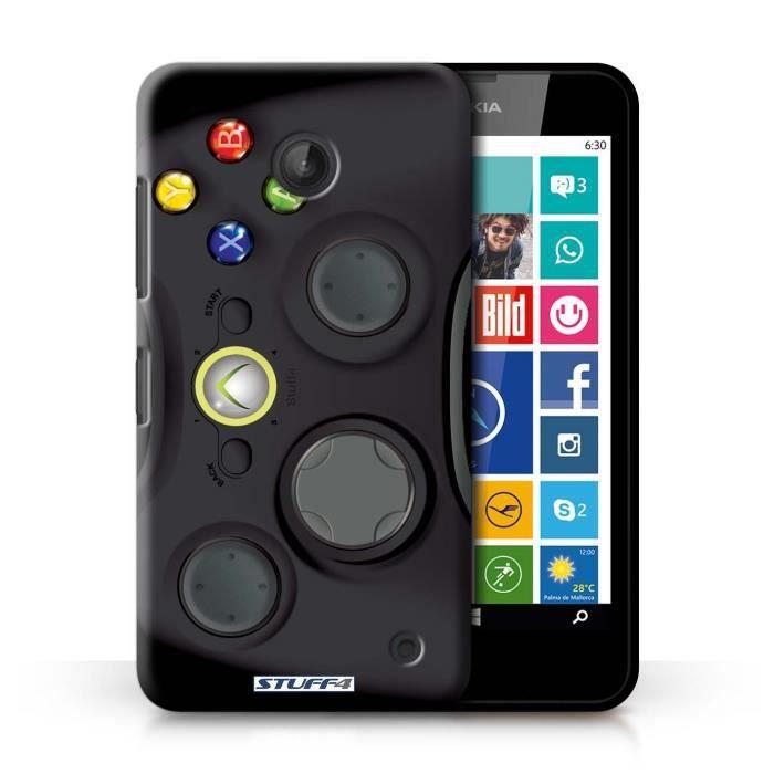 Coque de stuff4 coque pour nokia lumia 638 noir xbox 360 design console jeux vid o - Console jeux video pas cher ...