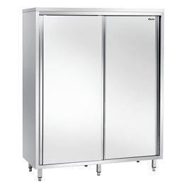 armoire haute avec 3 tablettes interm diares in achat vente elements bas armoire haute. Black Bedroom Furniture Sets. Home Design Ideas