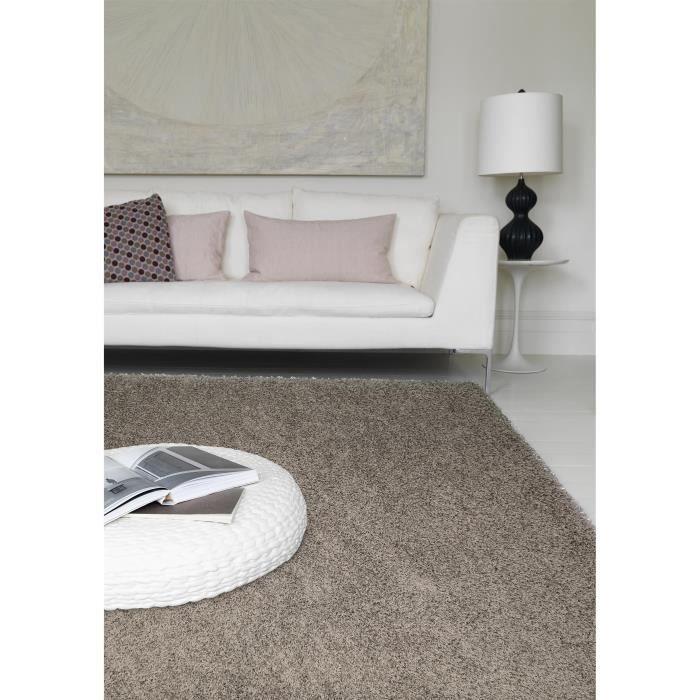 benuta tapis poils longs cambria gris 120x170 cm achat vente tapis cdiscount. Black Bedroom Furniture Sets. Home Design Ideas