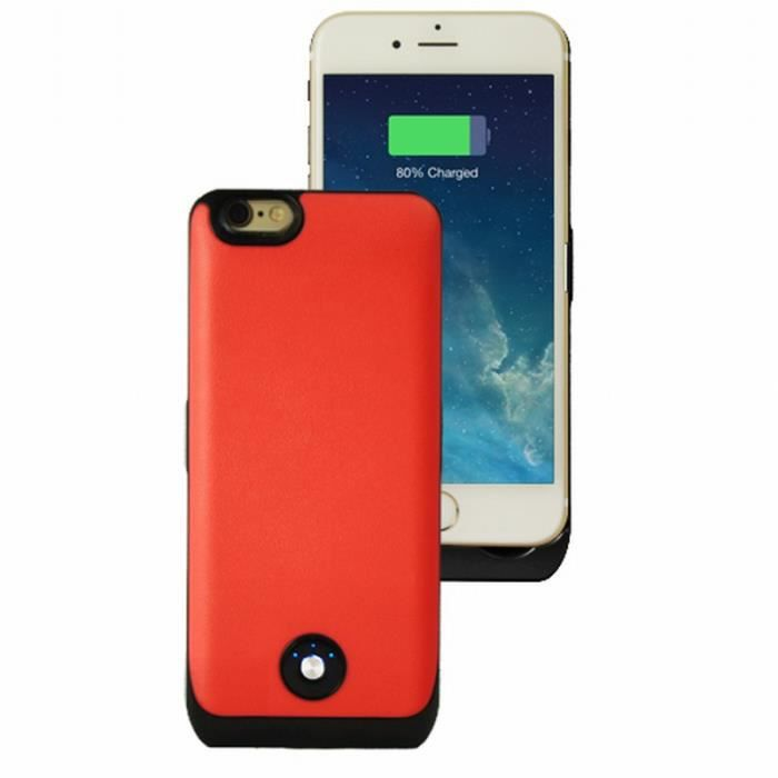 coque rechargeable rose 3000 mah iphone 6 achat coque. Black Bedroom Furniture Sets. Home Design Ideas