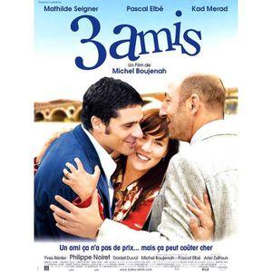 AFFICHE 3 Amis - Kad Merad - 40x56cm - AFFICHE ORIGINALE d