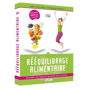 LIVRE SPORT Rééquilibrage Alimentaire
