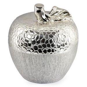 pomme decorative argent achat vente pomme decorative argent pas cher cdiscount. Black Bedroom Furniture Sets. Home Design Ideas