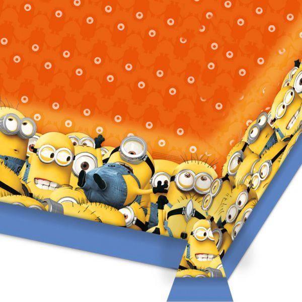 nappe pvc les minions deco anniversaire achat vente kit de decoration cdiscount. Black Bedroom Furniture Sets. Home Design Ideas