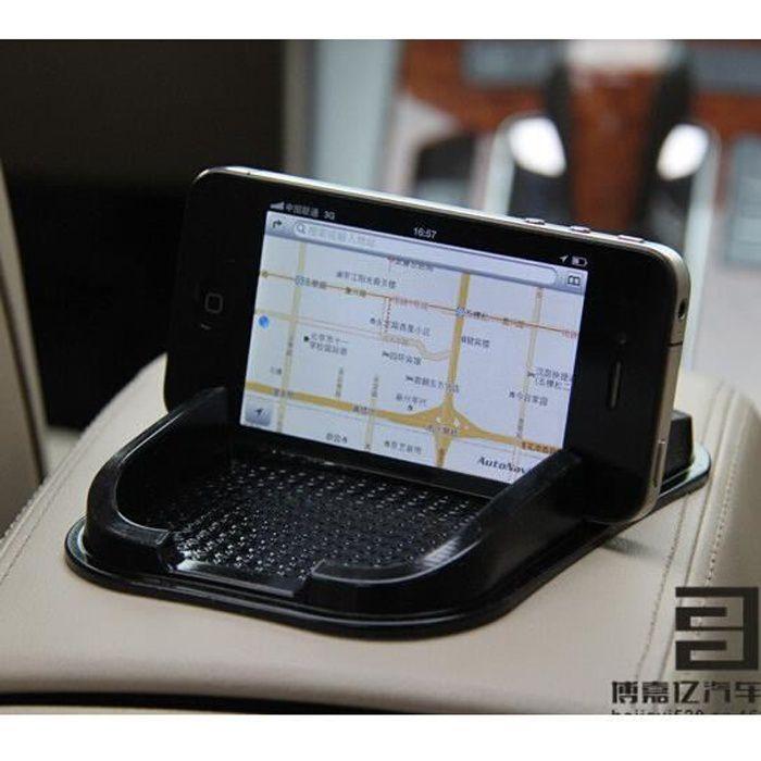 tapis collant de voiture tableau de bord anti d rapant gadget t l phone mobile gps support. Black Bedroom Furniture Sets. Home Design Ideas