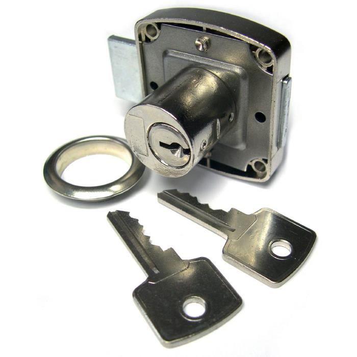 Serrure en applique cylindre strauss l44mm diam tr achat for Meuble 40x40