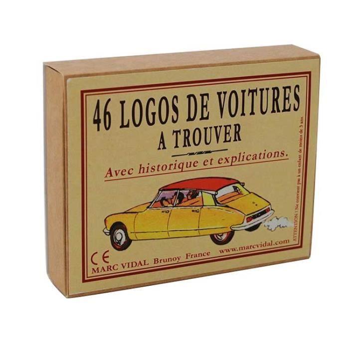 jeu 46 logos de voiture trouver achat vente jeu soci t plateau cdiscount. Black Bedroom Furniture Sets. Home Design Ideas