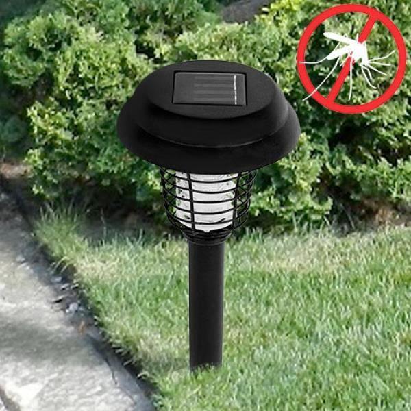 lampe solaire jardin anti moustique achat vente lampe solaire jardin anti m cdiscount. Black Bedroom Furniture Sets. Home Design Ideas