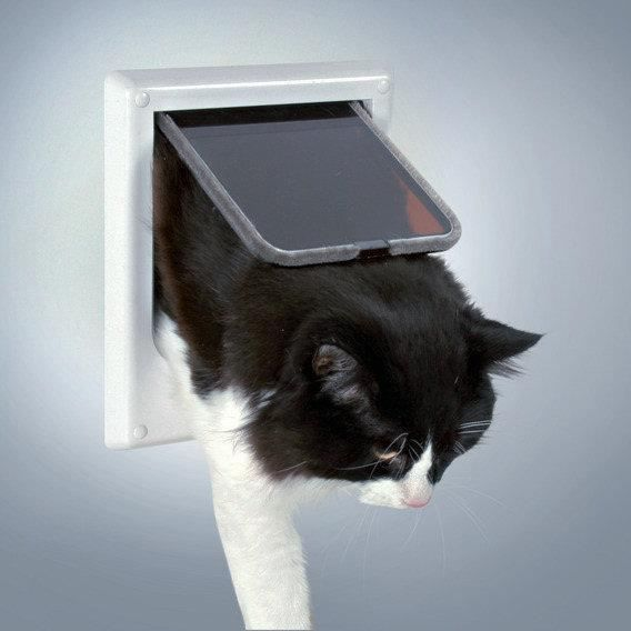 Chati re pour chat 4 positions electromagn tique achat - Trappe pour chat ...