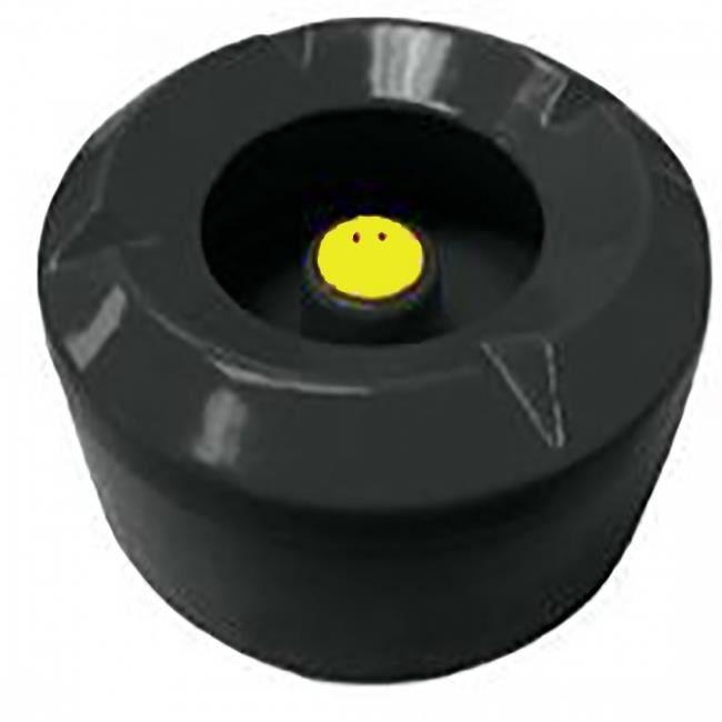 cendrier d 39 ext rieur smiley zak designs coloris noir. Black Bedroom Furniture Sets. Home Design Ideas