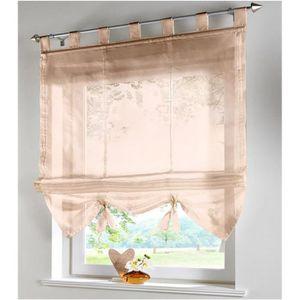 rideau cuisine store achat vente rideau cuisine store pas cher les soldes sur cdiscount. Black Bedroom Furniture Sets. Home Design Ideas