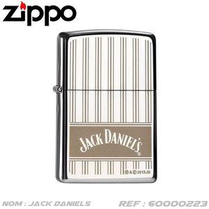 BRIQUET Briquet Zippo Jack Daniel's avec coffret - Nr : 60