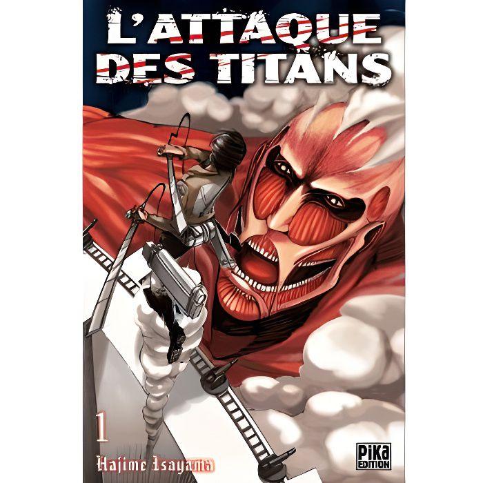 MANGA L'attaque des titans Tome 1