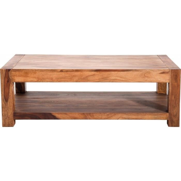 Table basse authentico 120x60 kare design achat vente table basse table b - Console depliable en table ...